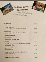 GH TAVOLATO - Essenbestellungen